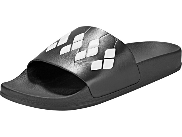 arena Team Stripe Slide Sandaalit, black-black-white
